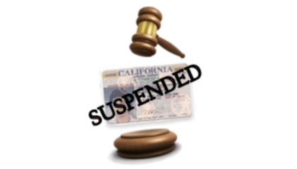 suspend license los angeles