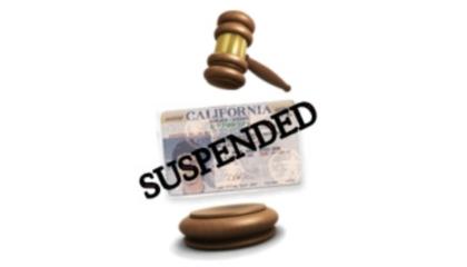 suspend license los angeles