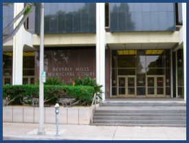 Beverly Hills court los angeles