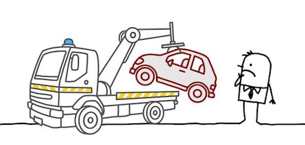 impounded car
