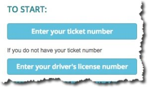 find ticket by drivers license